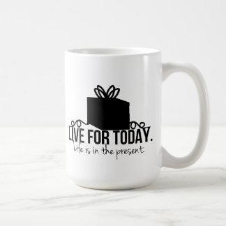 Viva para el hoy inspirado tazas
