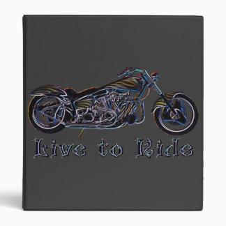 Viva para montar la carpeta de neón de la motocicl