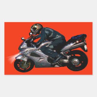 Viva para montar Motorbiker Pegatina