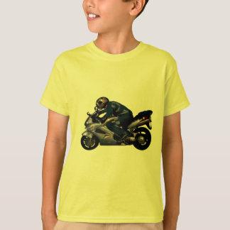 Viva para montar Motorbiker Playera