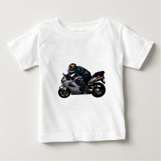 Viva para montar Motorbiker Playera De Bebé