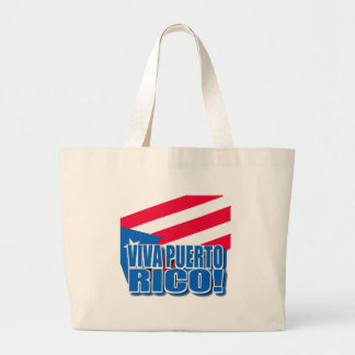 Viva Puerto Rico Products Large Tote Bag