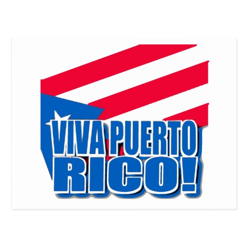Viva Puerto Rico Products Post Card