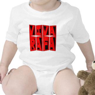 VIVA RAFA Red and Black Baby Bodysuit