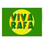 VIVA RAFA with Tennis Ball Greeting Cards