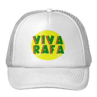 VIVA RAFA with Tennis Ball Trucker Hat
