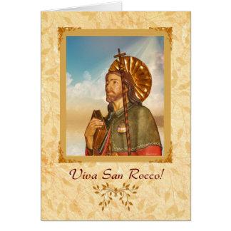Viva San Rocco - Greeting Card - Italian Verse
