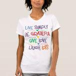 Viva simplemente camisetas