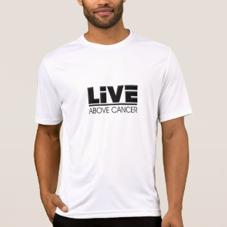 Viva sobre la camisa de la Mirco-Fibra del cáncer