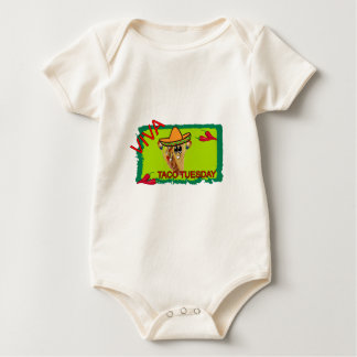 Viva Taco Tuesday Baby Bodysuit