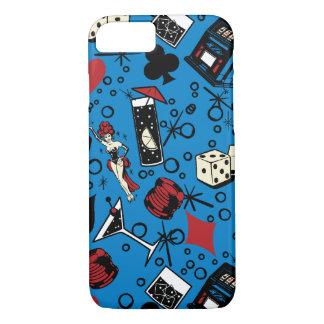 Viva Vegas Casino Retro Gambling Design iPhone 7 Case