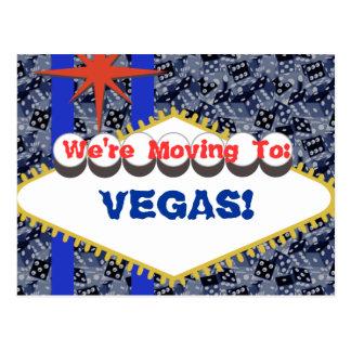 Viva Vegas! Postcard