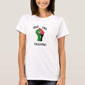 Viva Viva Palestina Women's Tee