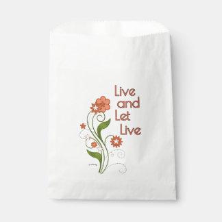 Viva y deje vivo (12 programas del paso) bolsa de papel