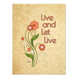 Viva y deje vivo (12 programas del paso) fotografías