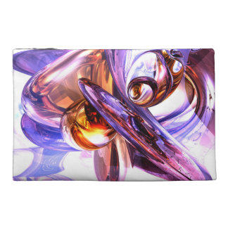 Vivacious Abstract Travel Accessories Bags