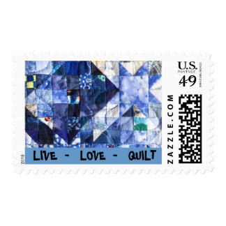 Vive - amor - el sello del edredón