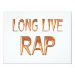 Vive de largo el rap comunicado personalizado