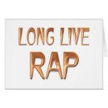 Vive de largo el rap felicitación