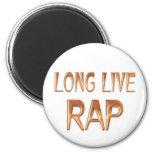 Vive de largo el rap imán de nevera