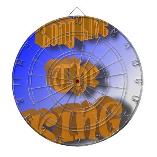 Vive de largo el rey Nice Design Tablero De Dardos