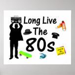Vive de largo la cultura de los años 80 poster