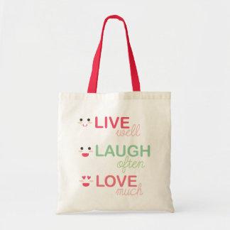 Vive el amor de la risa bolsa