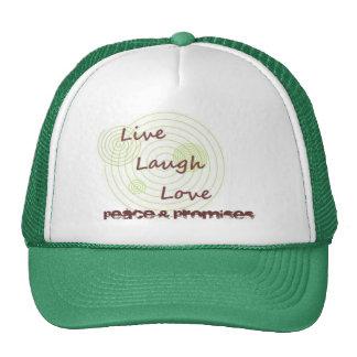 Vive el amor de la risa gorra