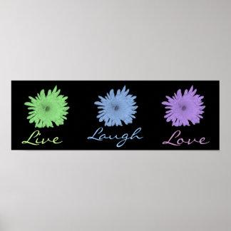 Vive el amor de la risa poster