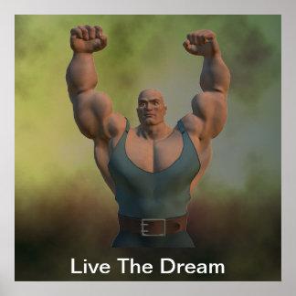 Vive el poster ideal del Weightlifter