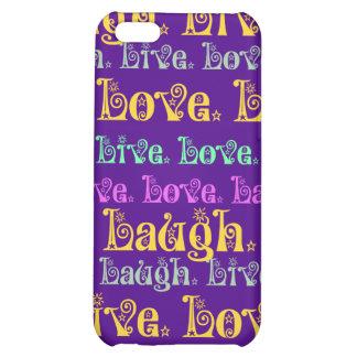 Vive femenino púrpura de las palabras Encouraging