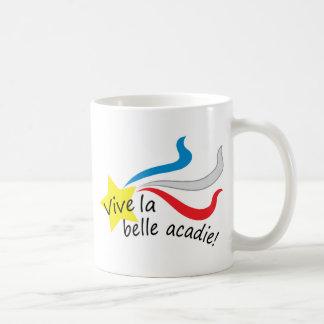 Vive la belle acadie coffee mug