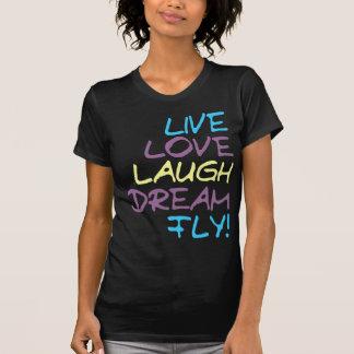 Vive la camiseta de 2 moscas camisas