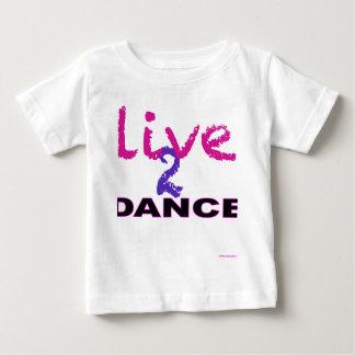 Vive la danza 2 playera para bebé
