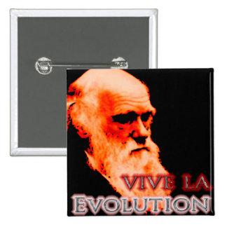 Vive La Evolution Redoux 2 Inch Square Button