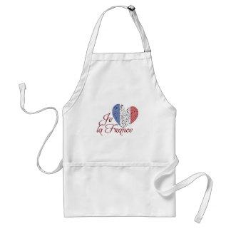 Vive la France Adult Apron