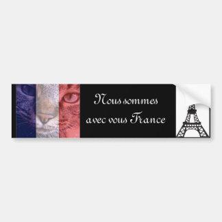 Vive la France Bumper Sticker
