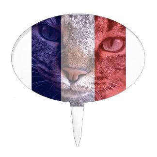 Vive la France Cake Topper