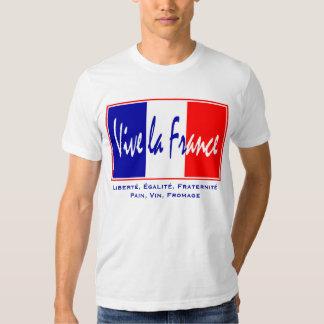 Vive La France - French Lifestyle, July 14 Theme T-shirt