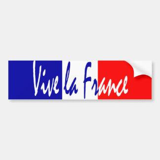 Vive La France - French Patriot's Bumper Sticker Car Bumper Sticker
