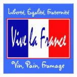 Vive la France Invitation to a French Event