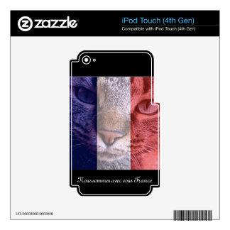 Vive la France iPod Touch 4G Decals