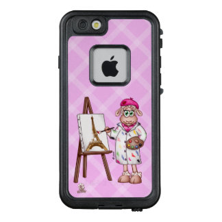 Vive La France - Lilly The Sheep Painting LifeProof FRĒ iPhone 6/6s Case