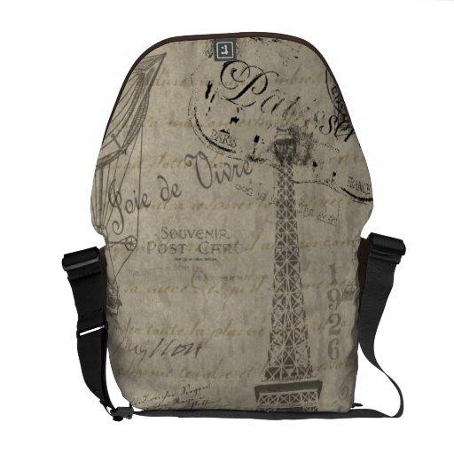 Vive la France Messenger Bag
