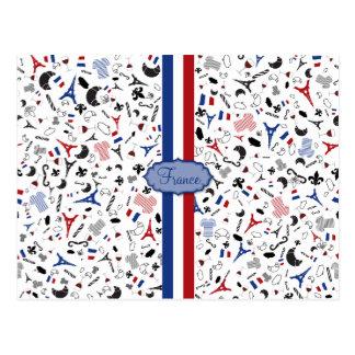 Vive la France Postcard