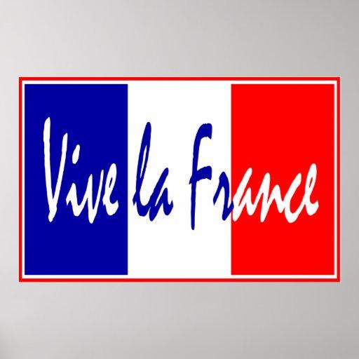 Vive La France Poster, French Restaurant, Sports Poster