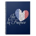 Vive la France Spiral Notebook
