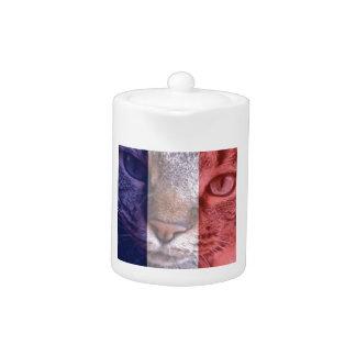 Vive la France Teapot