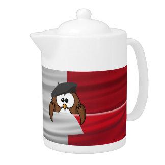 Vive la France! Teapot
