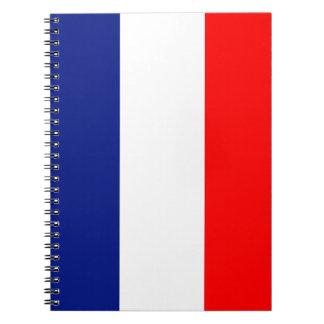 Vive La France tricolor Notebooks